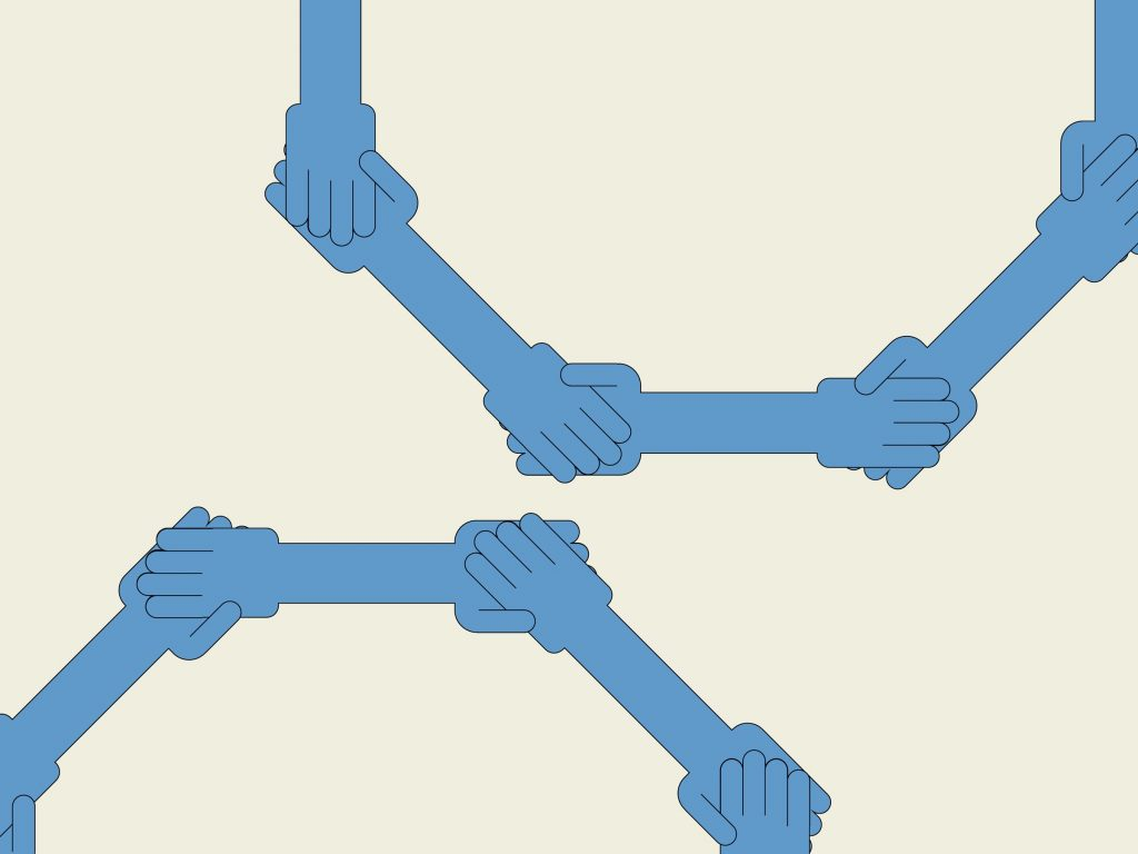 blue blockchain